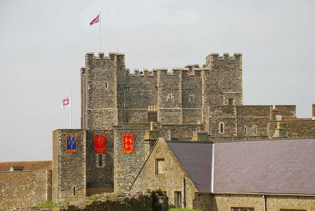castles in england dover castle