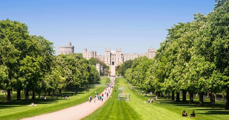 castles in england featured
