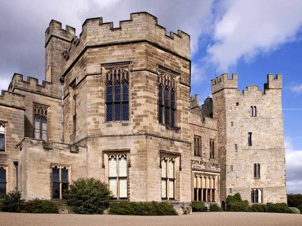 castles in england raby castle