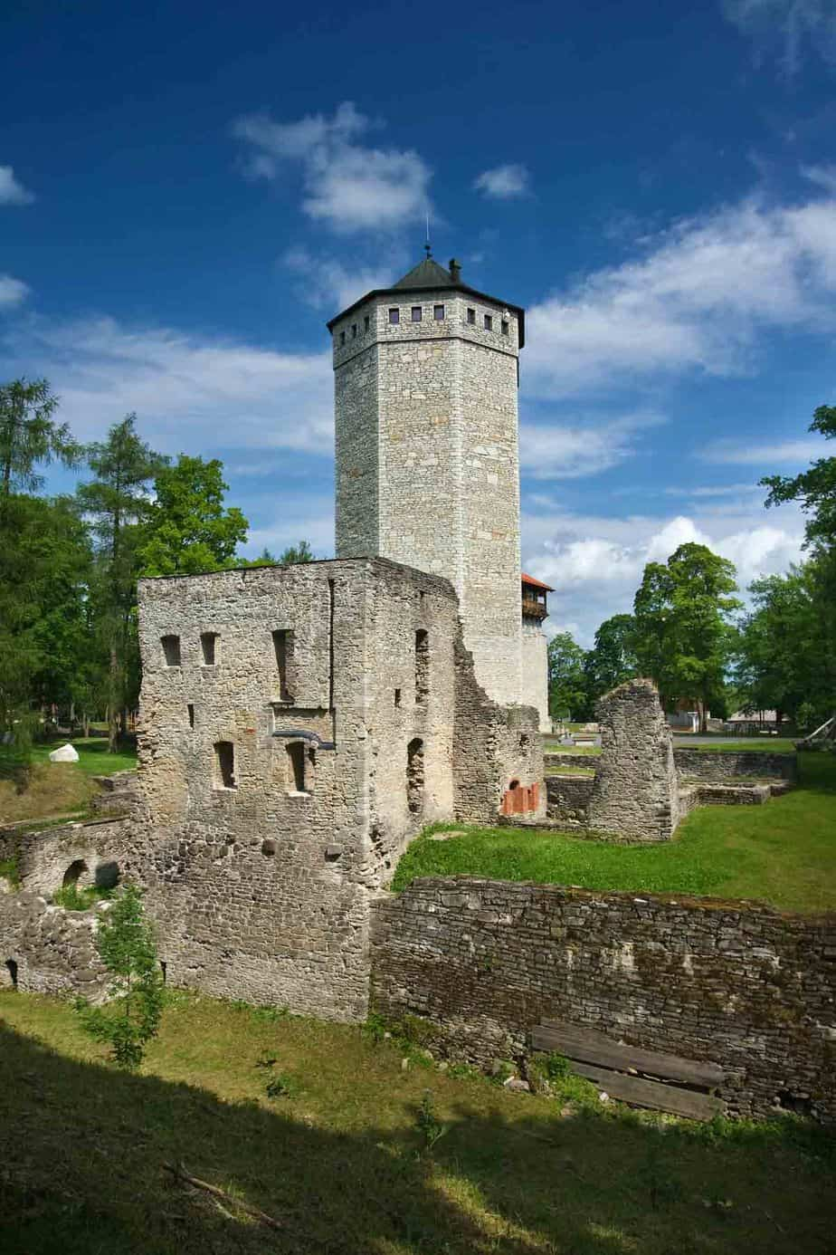 castles in estonia paide castle