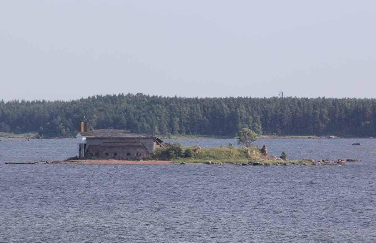castles in finland fort slava