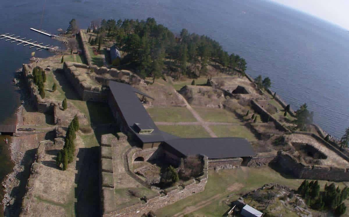 castles in finland svartholm fortress