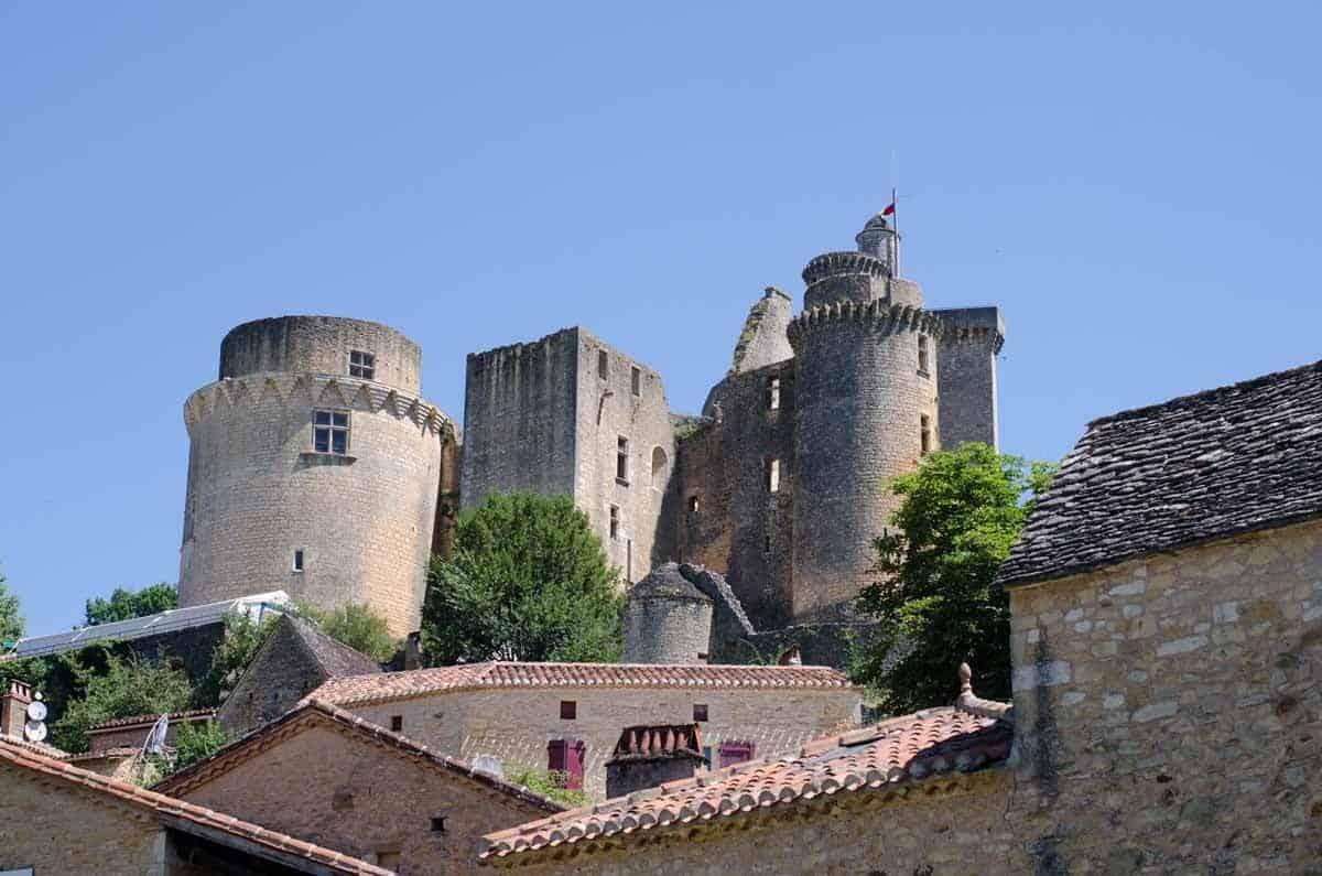castles in france chateau de bonaguil