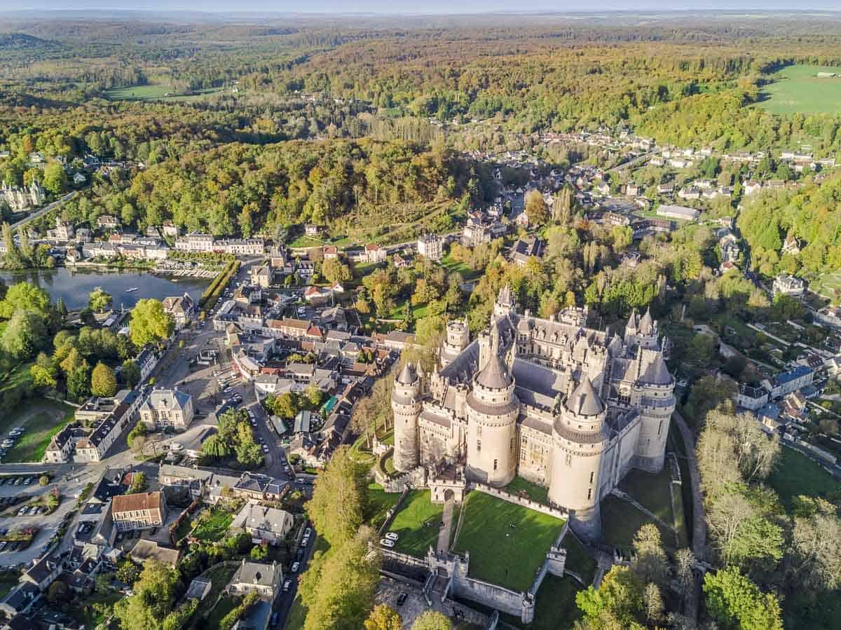 castles in france chateau de pierrefonds