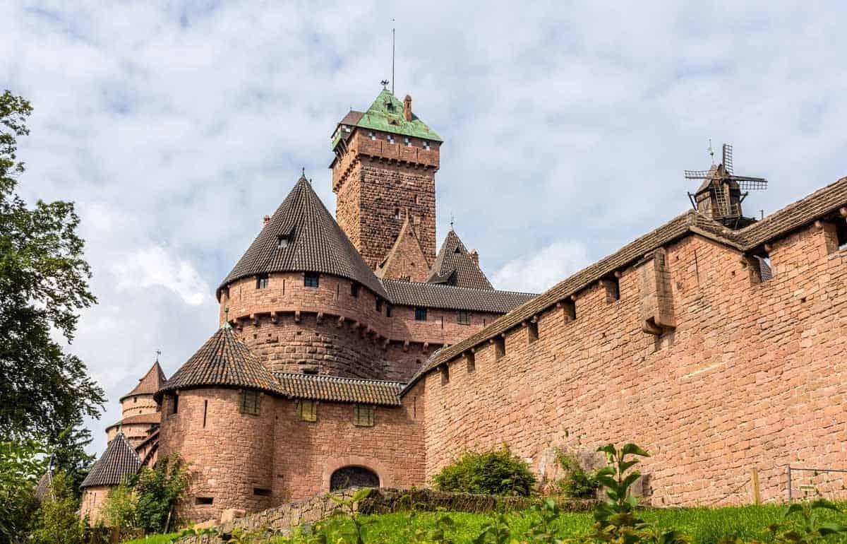 castles in france chateau du haut koenigsbourg
