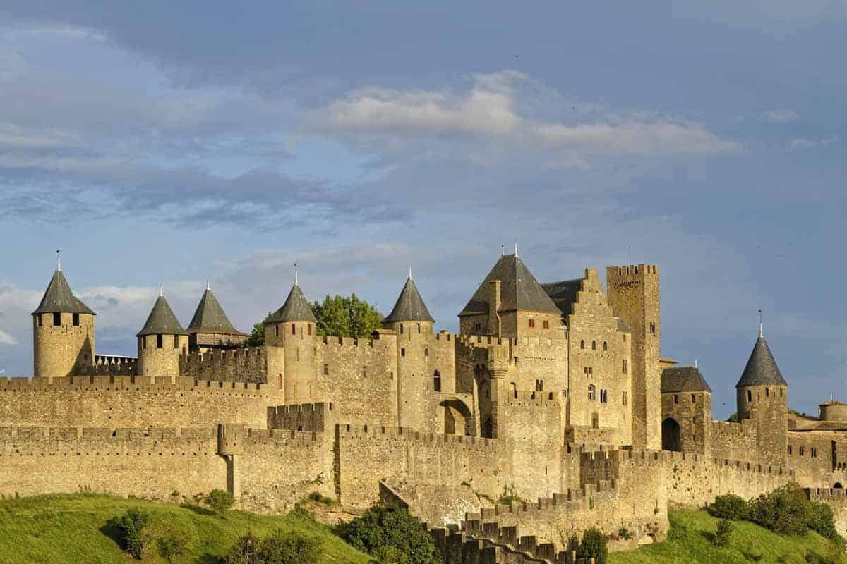 castles in france cite de carcassonne