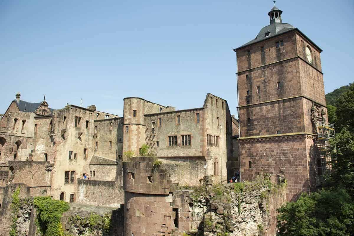 castles in germany heidelberg castle