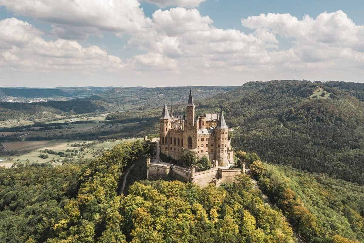 castles in germany hohenzollern castle