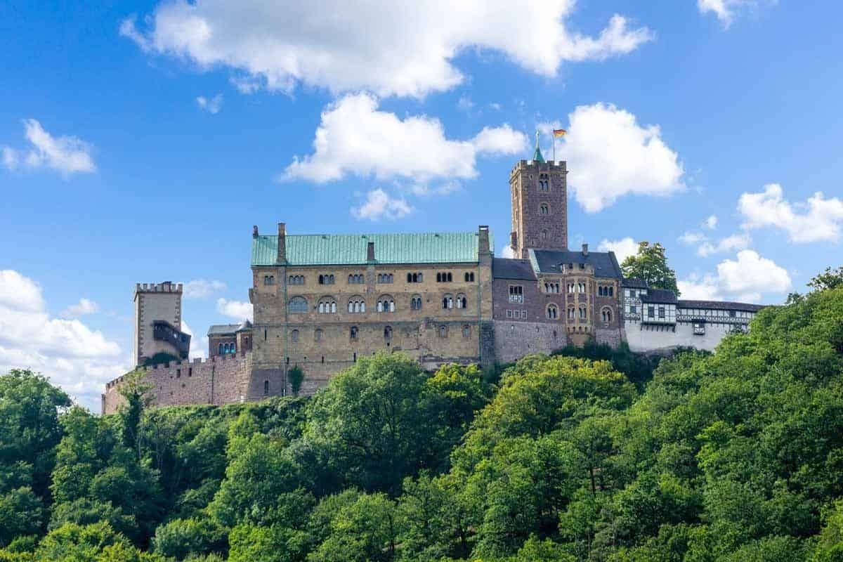 castles in germany wartburg