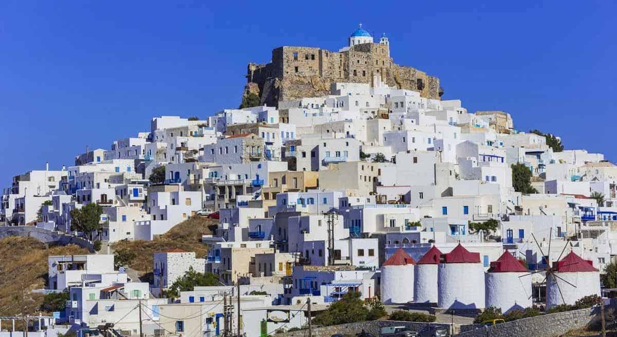 castles in greece castle of astypalea