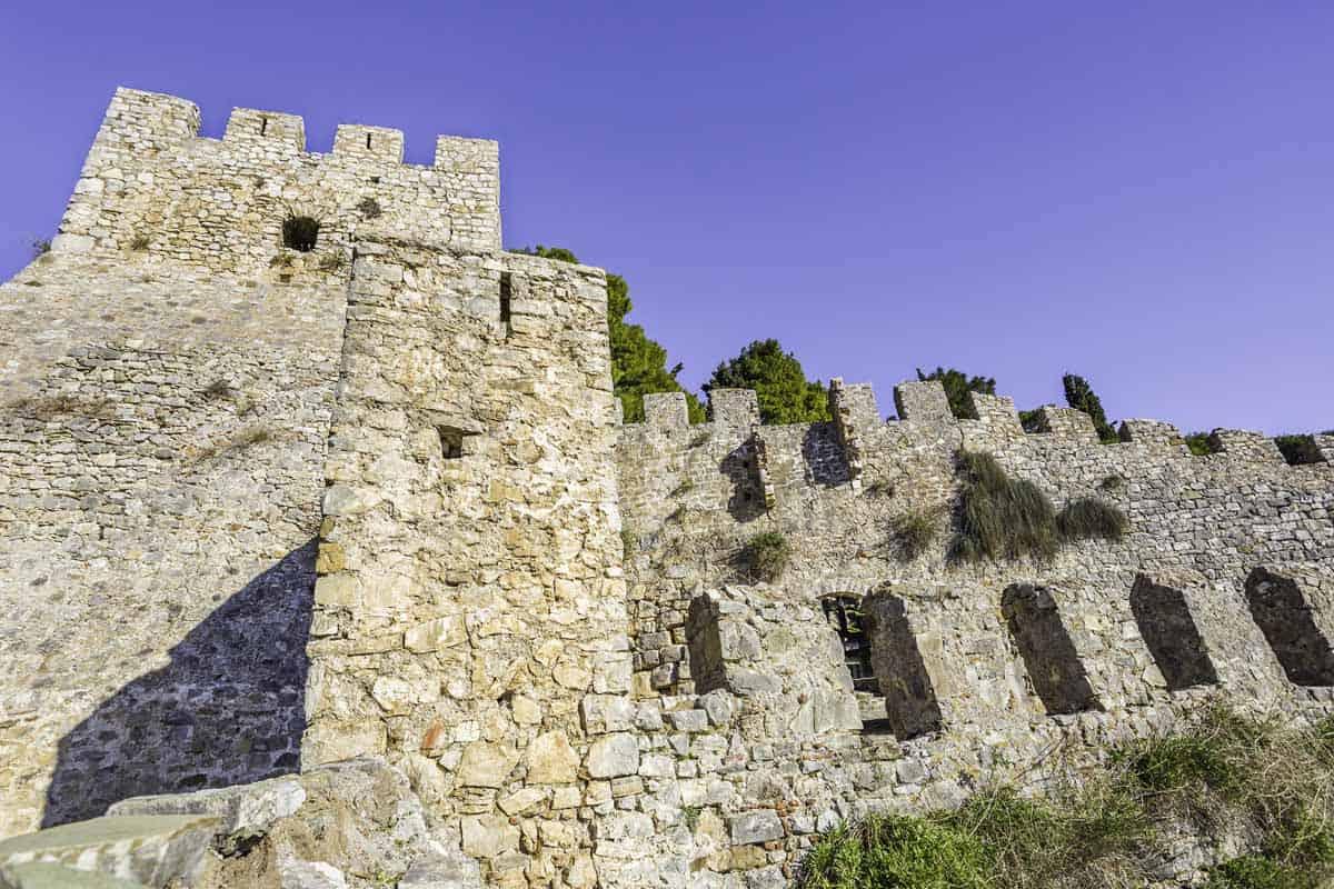 castles in greece castle of lepanto