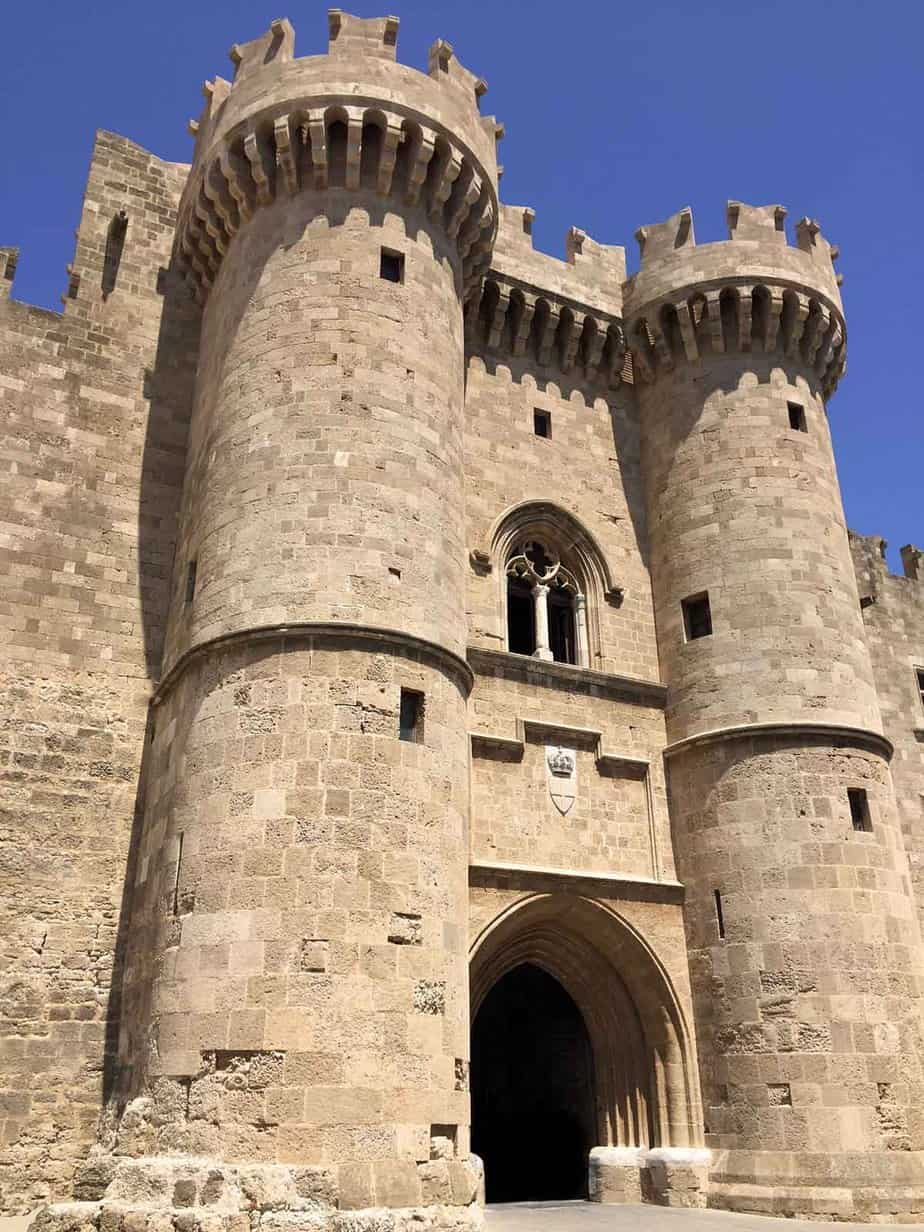 castles in greece castle of rhodes palace of grand master of knights