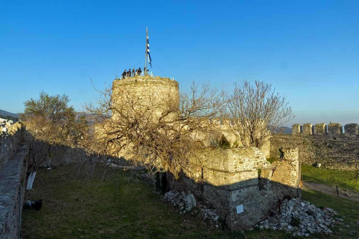 castles in greece fortress of kavala
