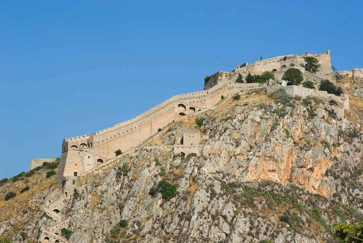 castles in greece nafplio