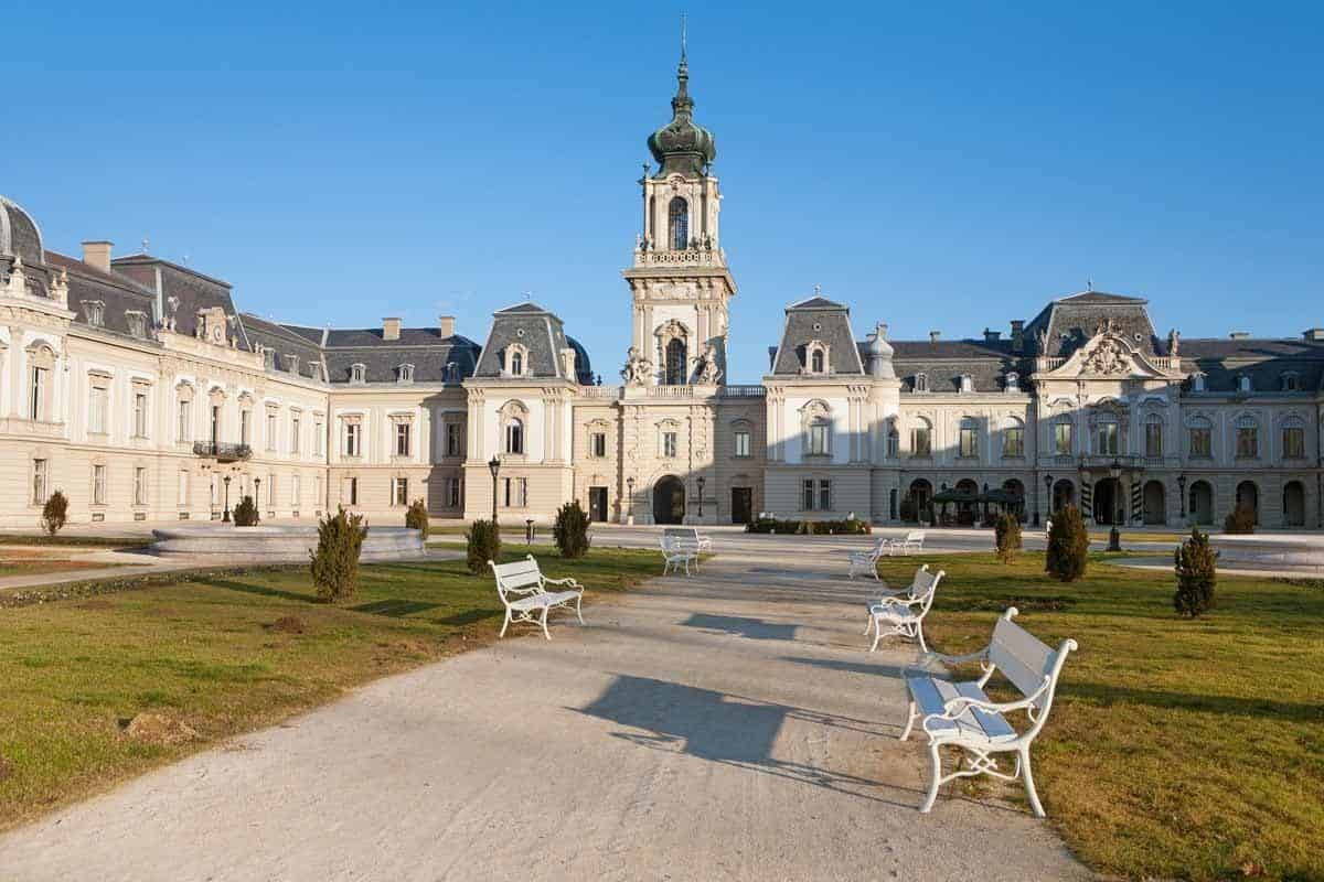 castles in hungary festetics palace