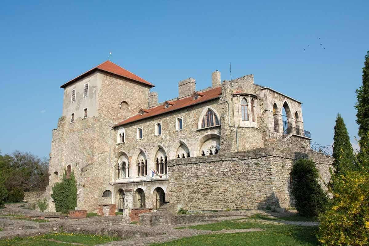 castles in hungary tata castle