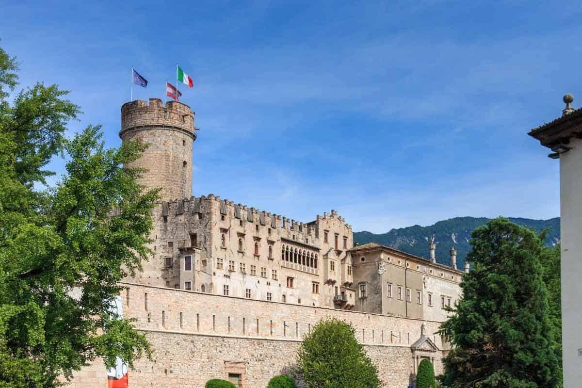 castles in italy buonconsiglio castle