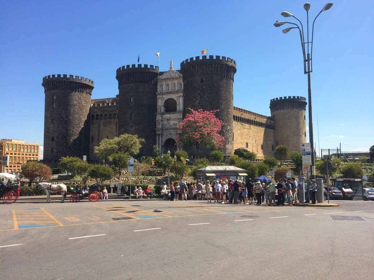 castles in italy castel nuovo