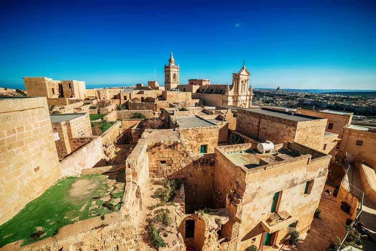 castles in malta gran castello gozo