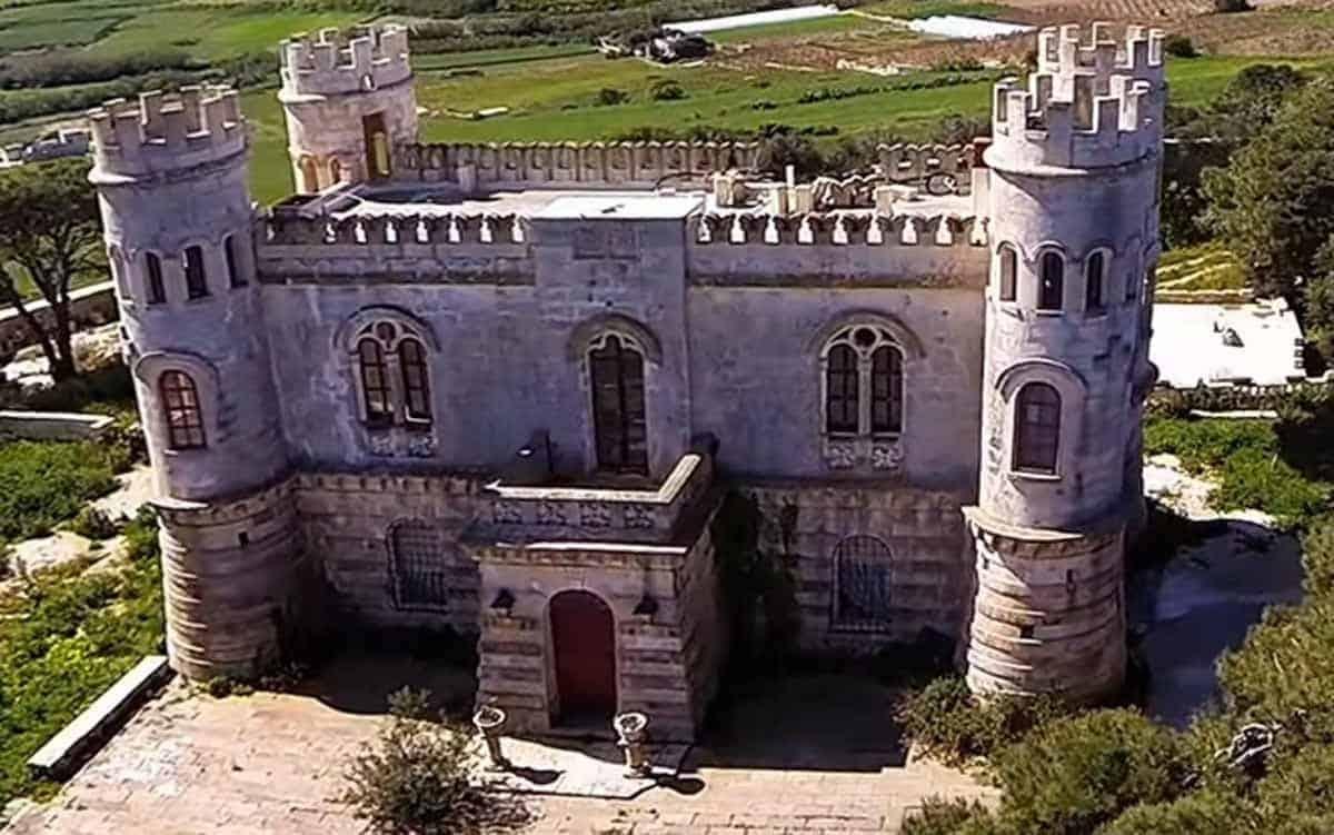 castles in malta tal virtu castle
