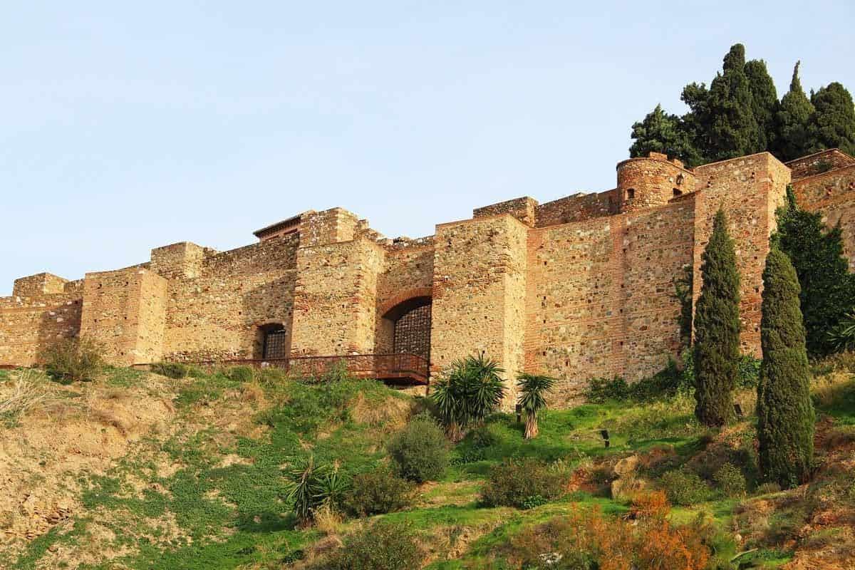most beautiful castles in spain alcazaba of malaga