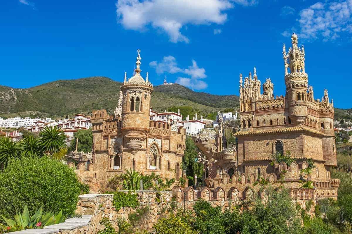 most beautiful castles in spain castillo de colomares