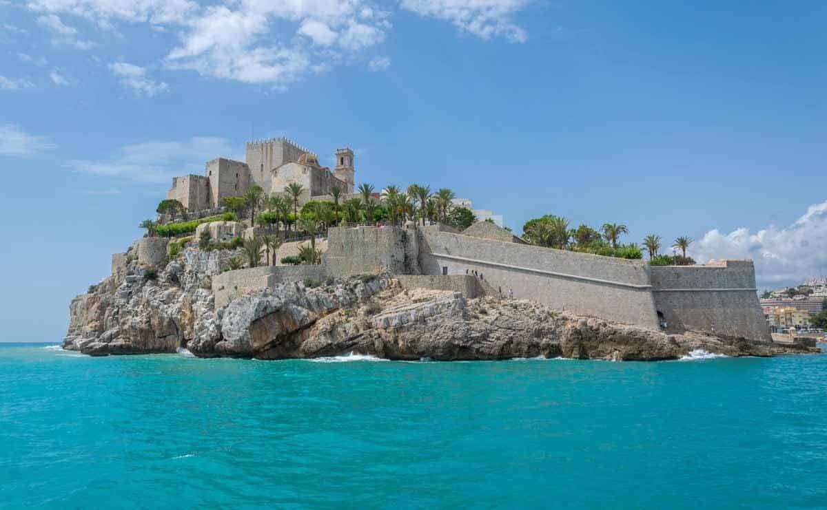 most beautiful castles in spain castillo de peniscola
