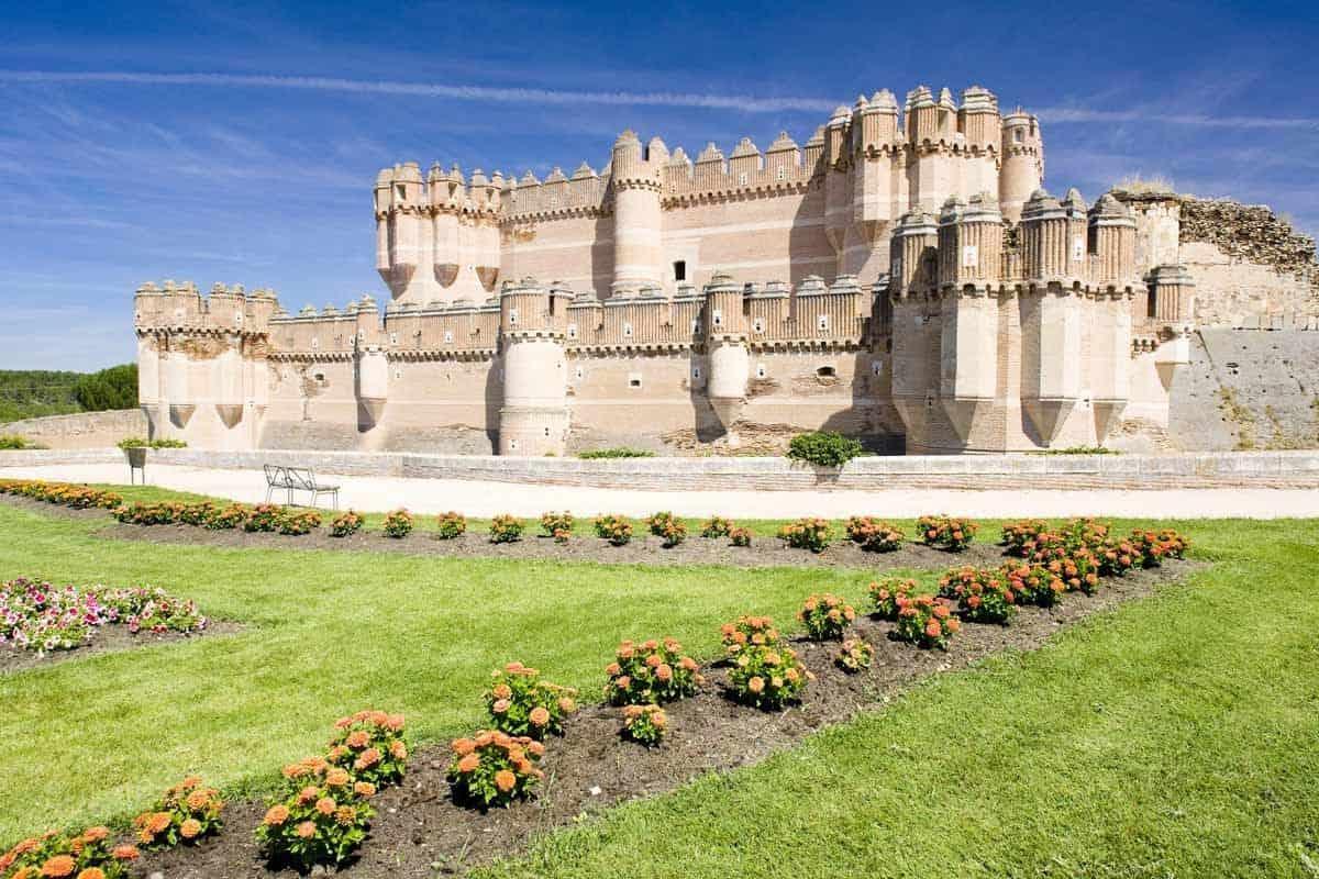 most beautiful castles in spain castle of coca