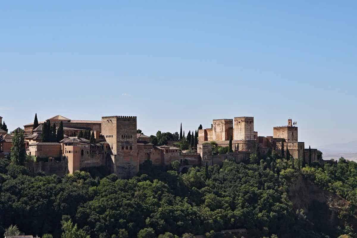 most beautiful castles in spain la alhambra