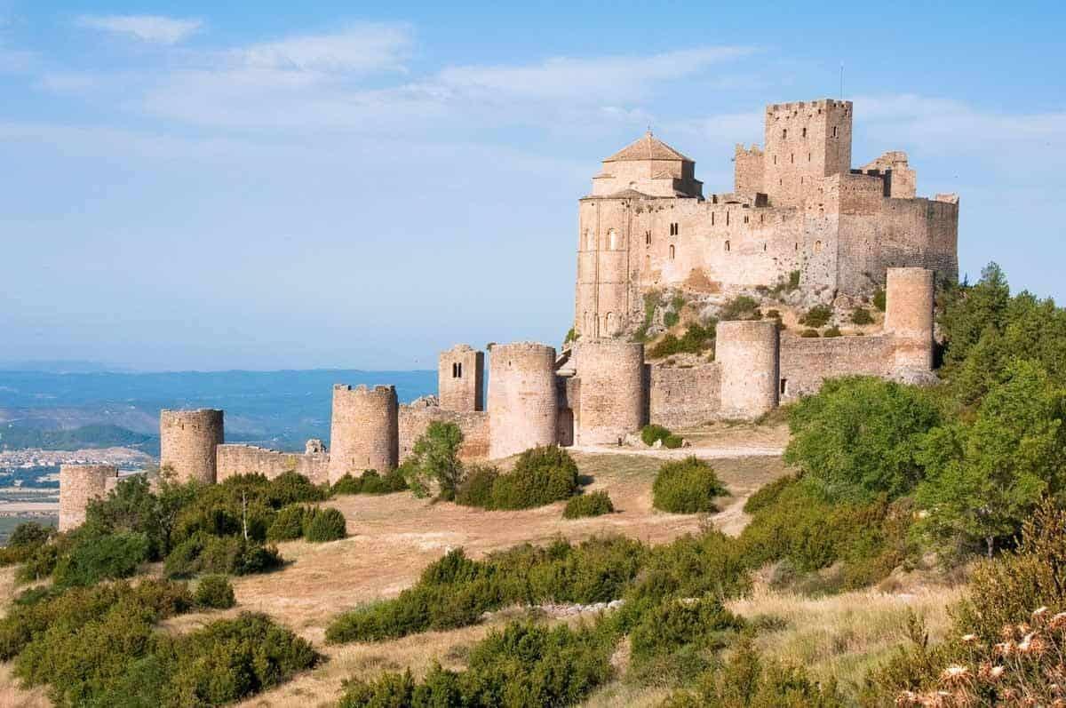 most beautiful castles in spain loarre castle