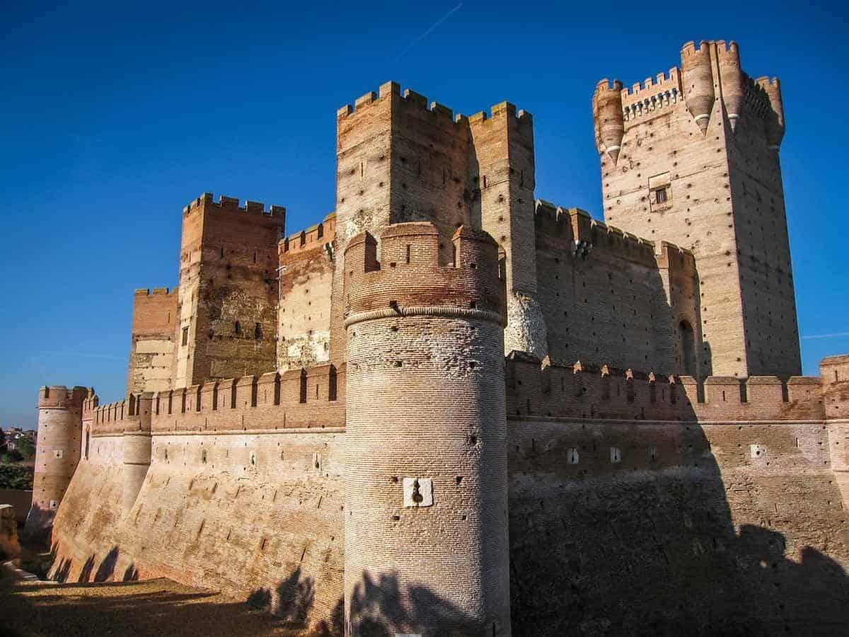 most beautiful castles in spain mota
