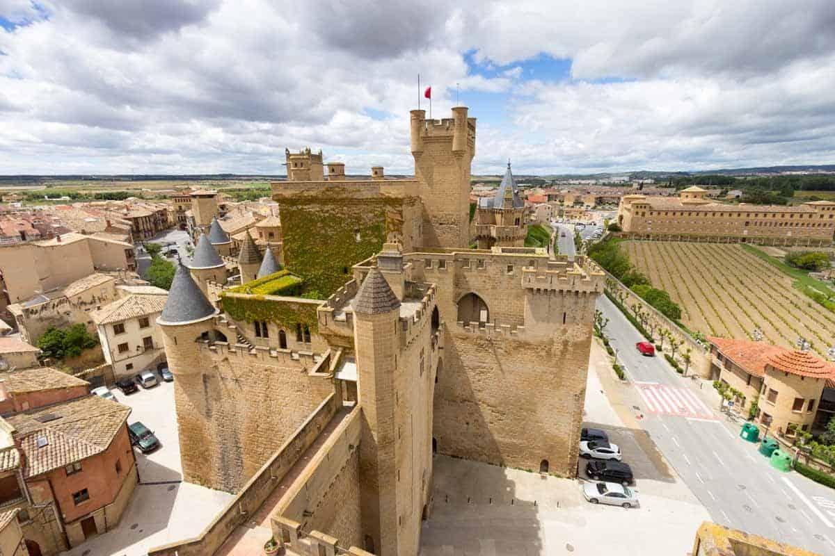 most beautiful castles in spain palacio real de olite