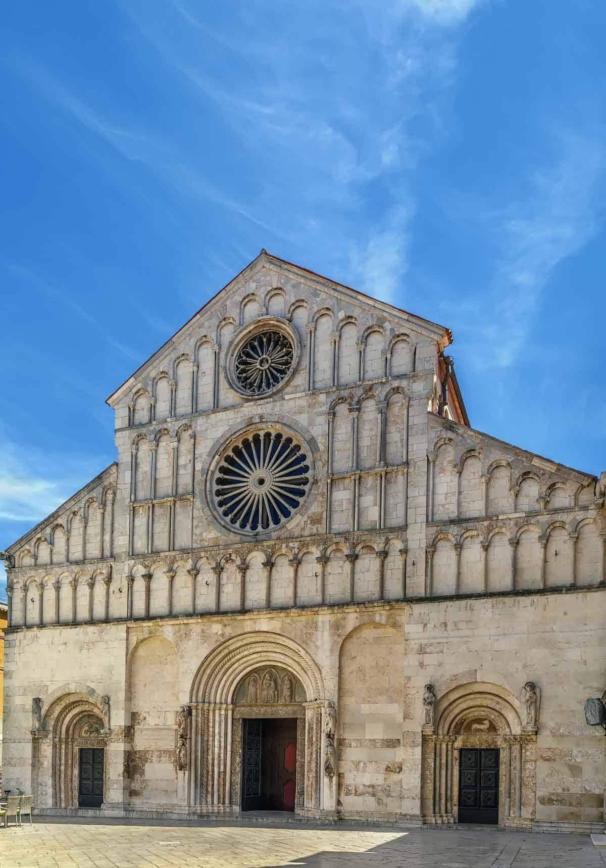 top tourist attractions in zadar croatia cathedral