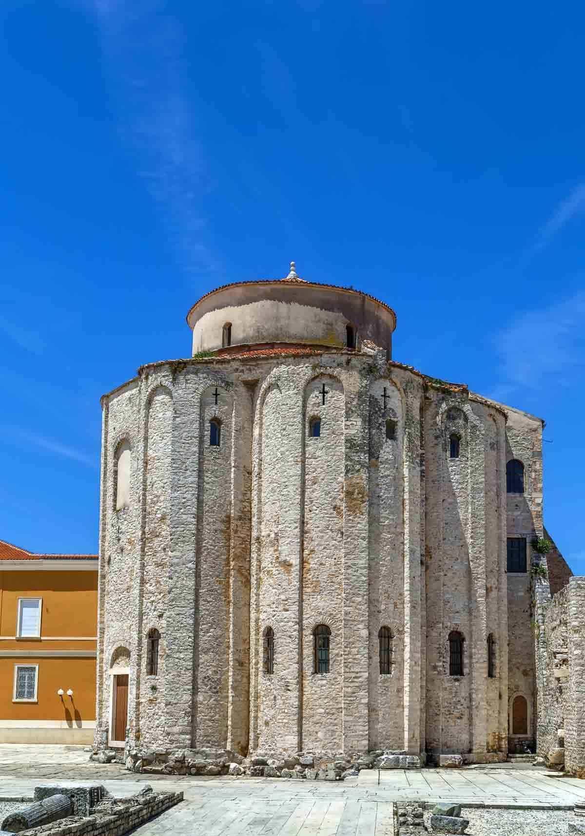 Things to do in Zadar, The Church of St. Donat