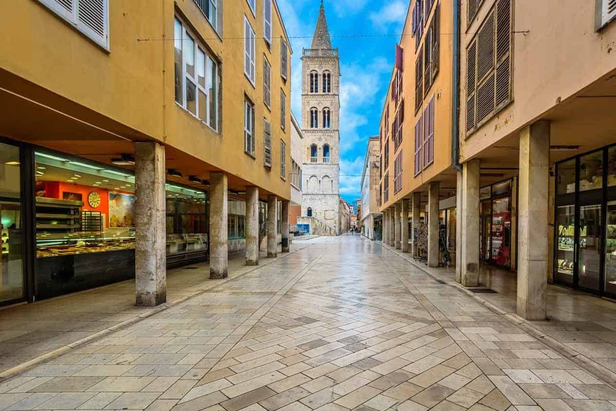 top tourist attractions in zadar croatia kalelarga