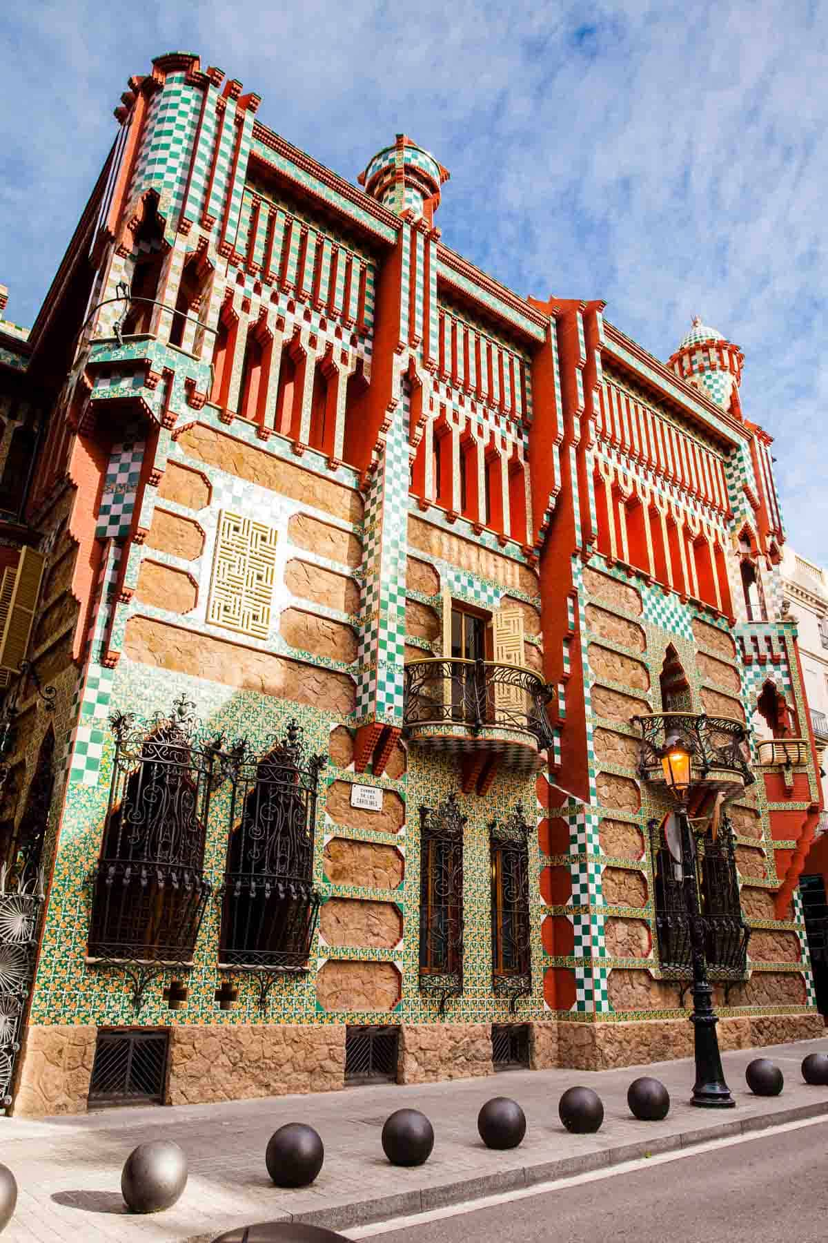 famous buildings in barcelona gaudi buildings and architecture casa vicens