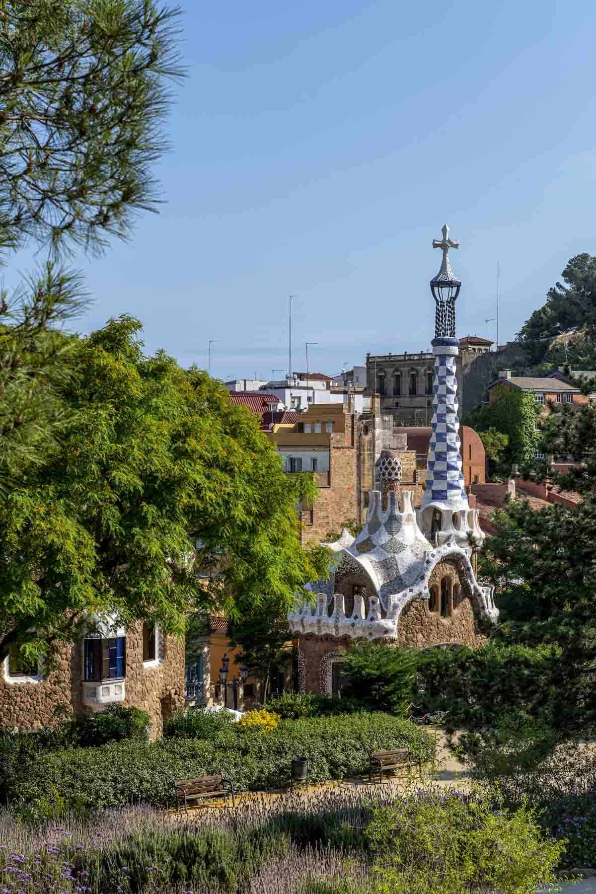 famous buildings in barcelona gaudi buildings and architecture park guell