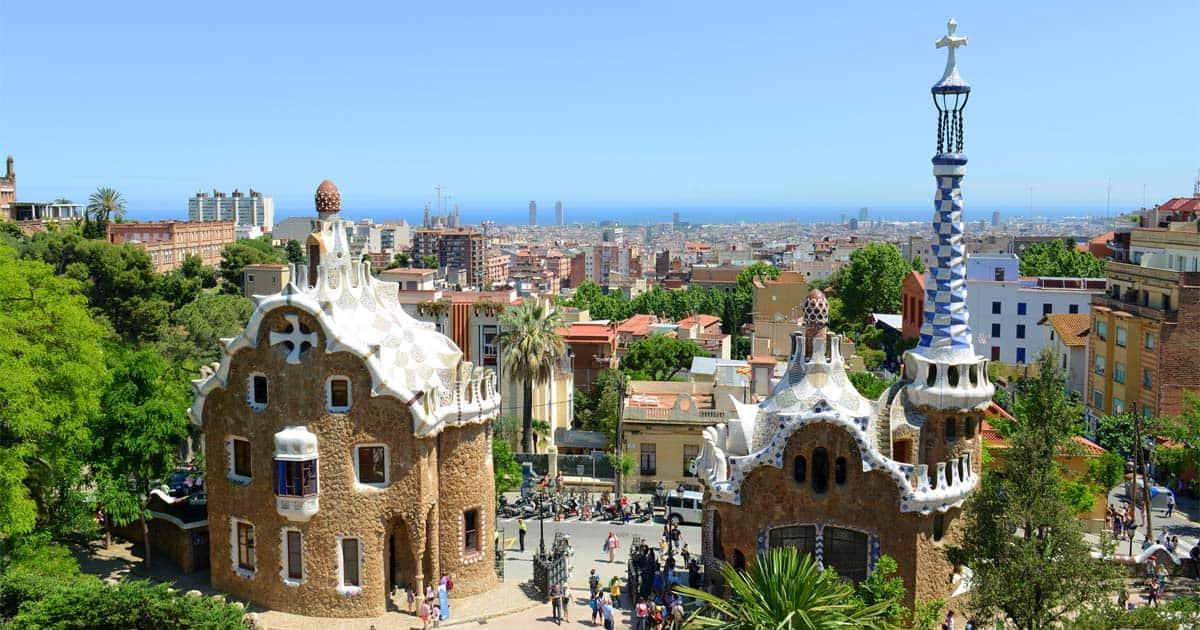 famous buildings in barcelona gaudi buildings and architecture schema
