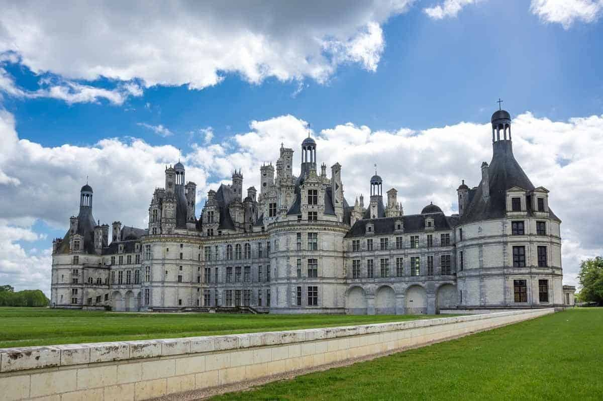 man-made structures in europe chateau de chambord