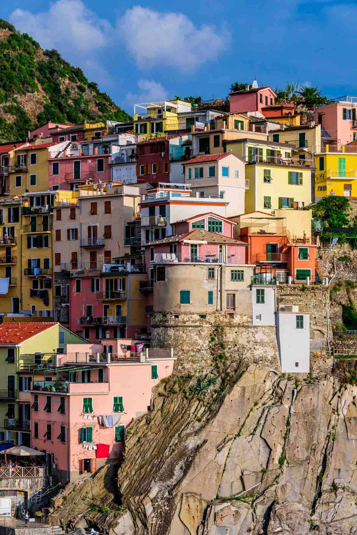 man-made structures in europe cinque terre italy
