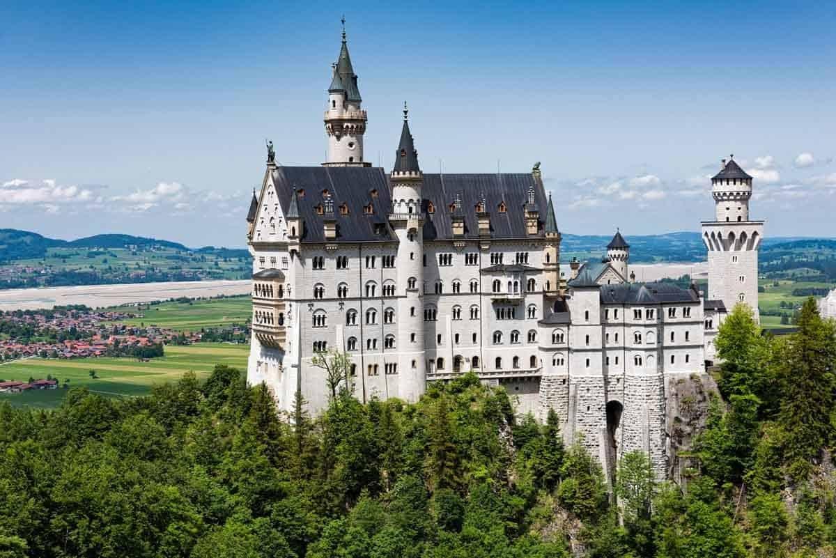 man-made structures in europe neuschwanstein castle