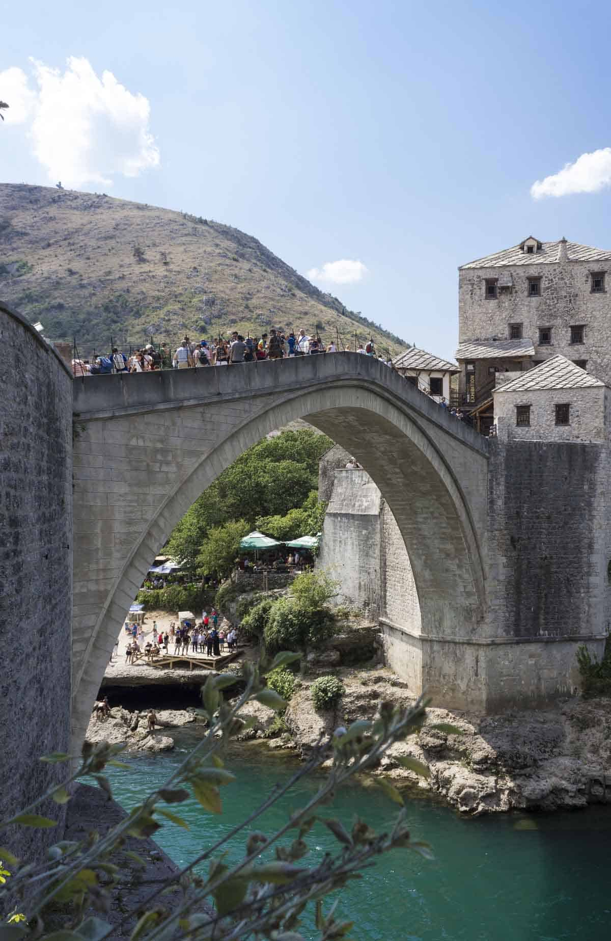 man-made structures in europe old bridge mostar