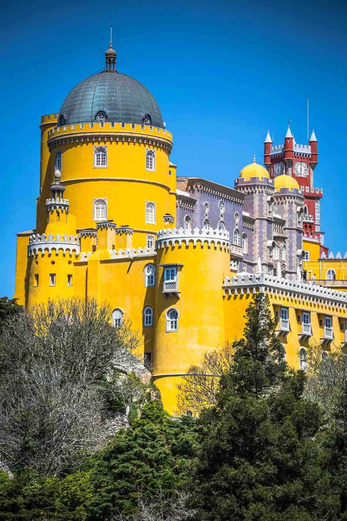 man-made structures in europe pena national palace