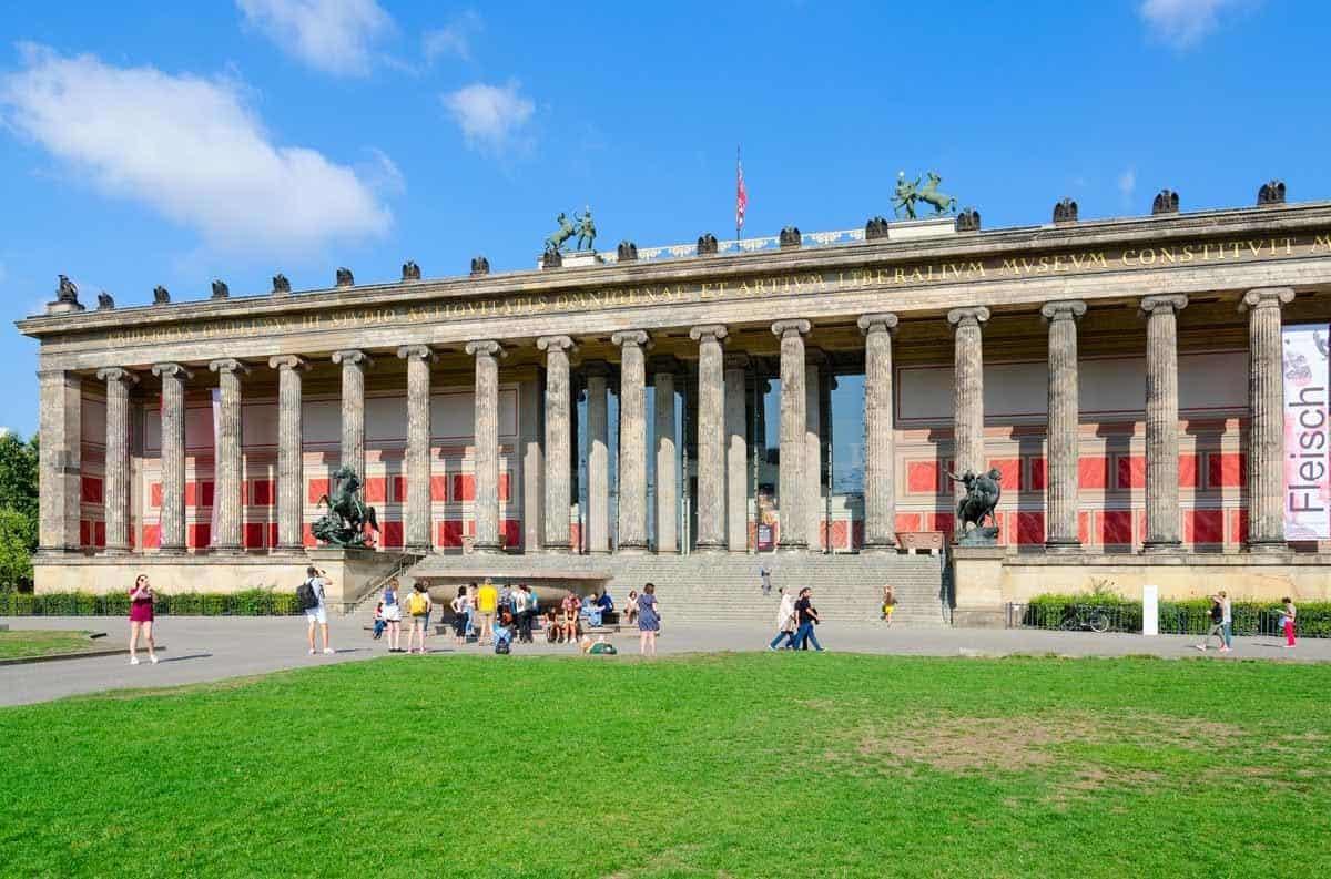 top museums in europe altes museum berlin germany