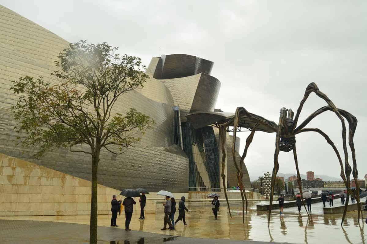 top museums in europe guggenheim museum bilbao spain