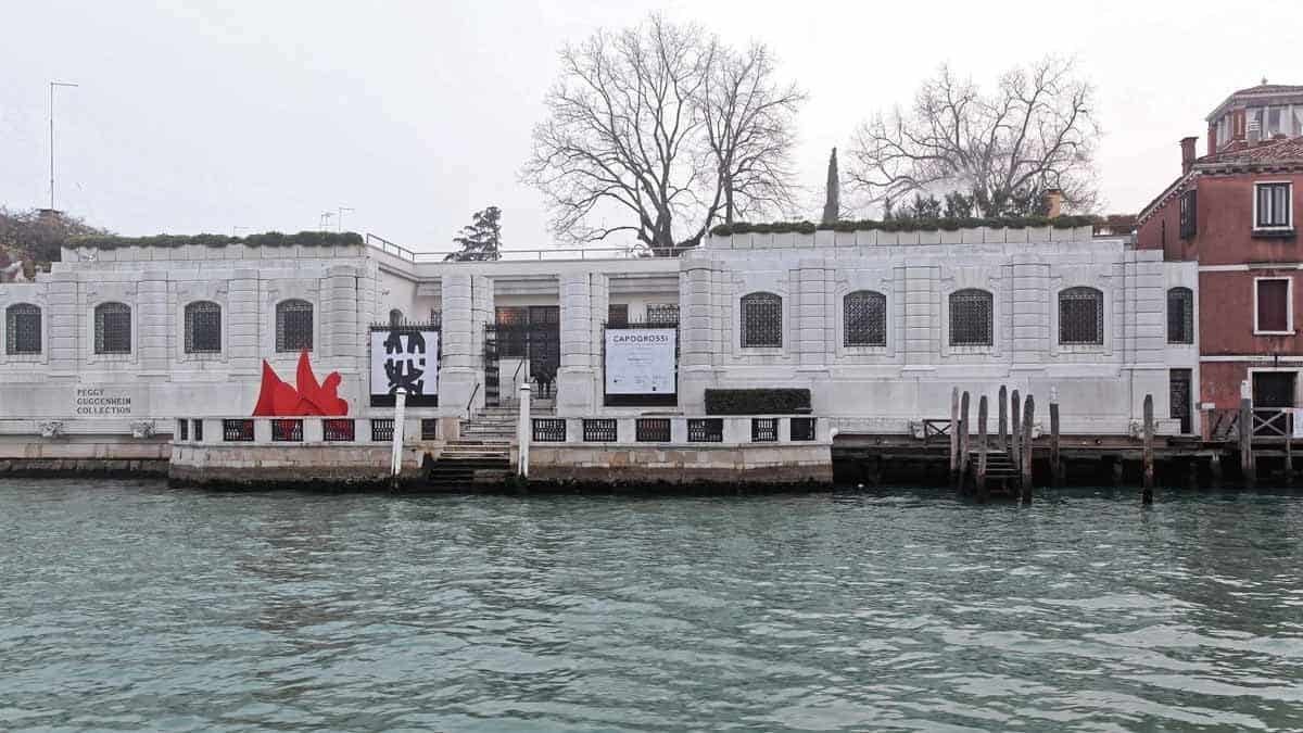 top museums in europe peggy guggenheim collections venice italy