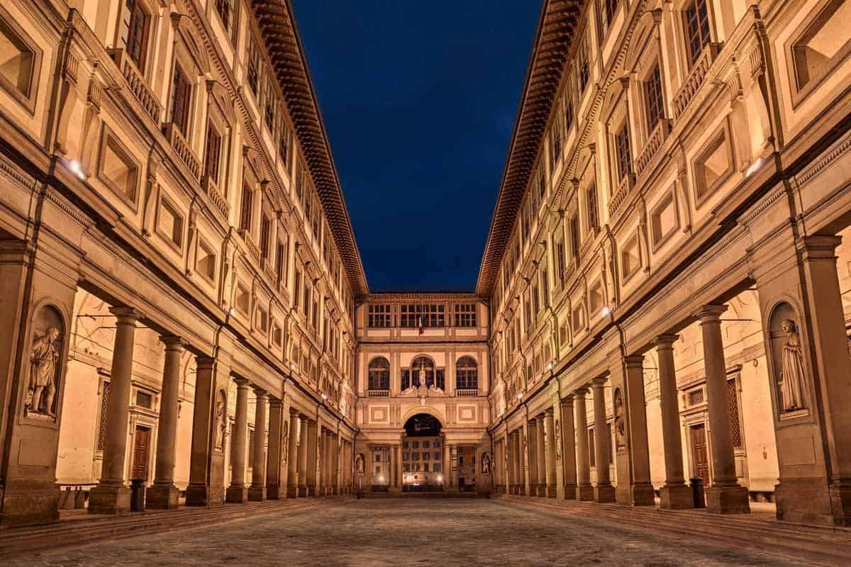 top museums in europe uffizi gallery florence italy
