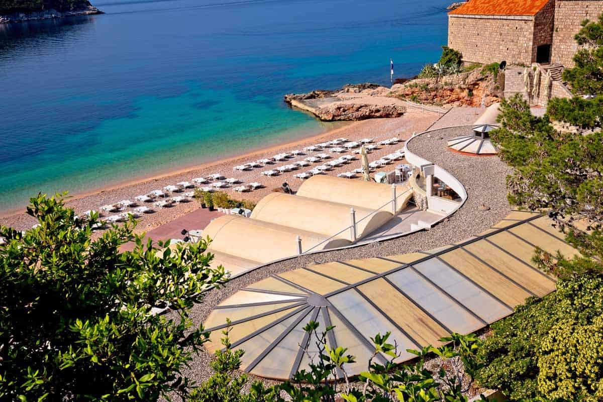 top tourist attractions in dubrovnik croatia banje beach