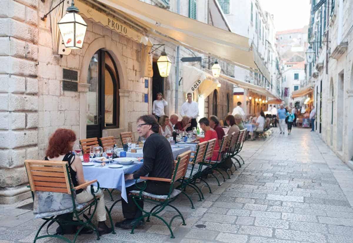 top tourist attractions in dubrovnik croatia croatian food proto restaurant