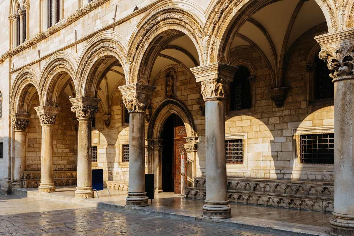 top tourist attractions in dubrovnik croatia rector's palace